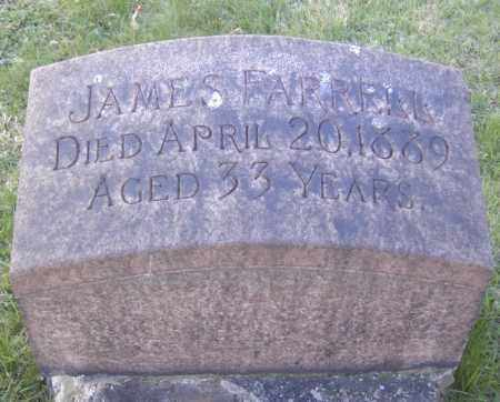 FARRELL, JAMES - Columbiana County, Ohio | JAMES FARRELL - Ohio Gravestone Photos