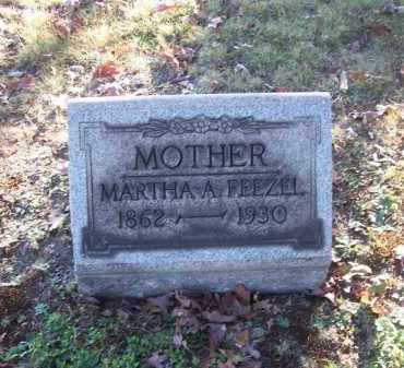 FEEZEL, MARTHA A. - Columbiana County, Ohio | MARTHA A. FEEZEL - Ohio Gravestone Photos