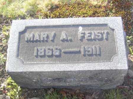 FEIST, MARY A. - Columbiana County, Ohio | MARY A. FEIST - Ohio Gravestone Photos