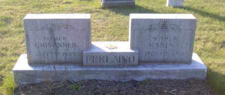 FERLAINO, GIOVANNI B. - Columbiana County, Ohio | GIOVANNI B. FERLAINO - Ohio Gravestone Photos
