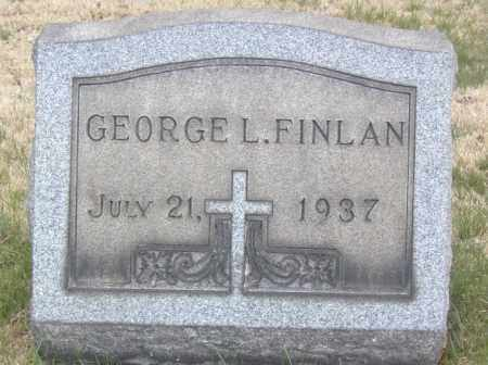 FINLAN, GEORGE L. - Columbiana County, Ohio | GEORGE L. FINLAN - Ohio Gravestone Photos