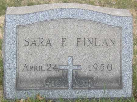 FINLAN, SARA F. - Columbiana County, Ohio | SARA F. FINLAN - Ohio Gravestone Photos