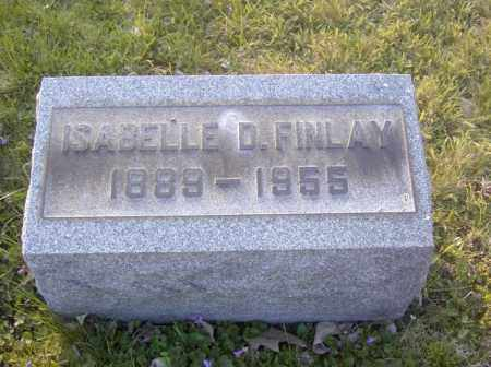 FINLAY, ISABELLE D. - Columbiana County, Ohio | ISABELLE D. FINLAY - Ohio Gravestone Photos