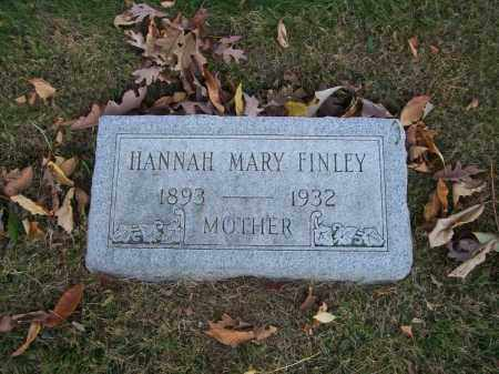 FINLEY, HANNAH MARY - Columbiana County, Ohio | HANNAH MARY FINLEY - Ohio Gravestone Photos