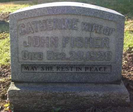 FISHER, CATHERINE - Columbiana County, Ohio | CATHERINE FISHER - Ohio Gravestone Photos
