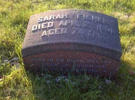 FISHER, SARAH - Columbiana County, Ohio | SARAH FISHER - Ohio Gravestone Photos