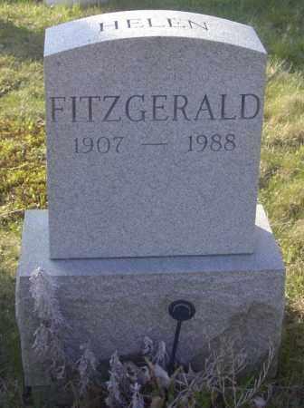 FITZGERALD, HELEN - Columbiana County, Ohio | HELEN FITZGERALD - Ohio Gravestone Photos