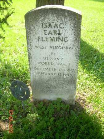 FLEMING, ISAAC EARL - Columbiana County, Ohio | ISAAC EARL FLEMING - Ohio Gravestone Photos