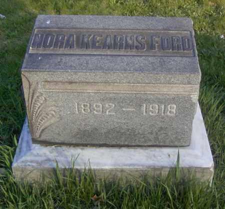 FORD, NORA KEARNS - Columbiana County, Ohio | NORA KEARNS FORD - Ohio Gravestone Photos