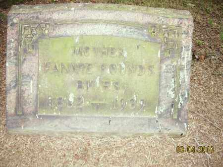 FOUNDS, FANNIE - Columbiana County, Ohio | FANNIE FOUNDS - Ohio Gravestone Photos
