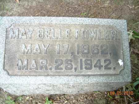 FOWLER, MARY BELLE - Columbiana County, Ohio | MARY BELLE FOWLER - Ohio Gravestone Photos
