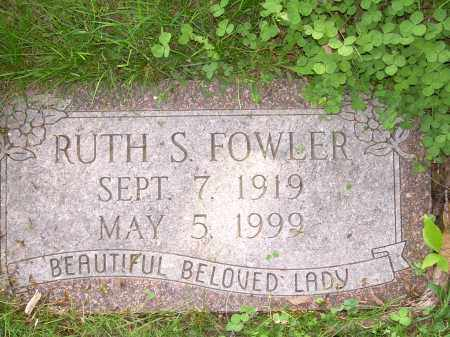 SPRINGER FOWLER, RUTH - Columbiana County, Ohio | RUTH SPRINGER FOWLER - Ohio Gravestone Photos