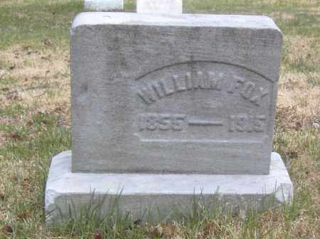 FOX, WILLIAM - Columbiana County, Ohio | WILLIAM FOX - Ohio Gravestone Photos