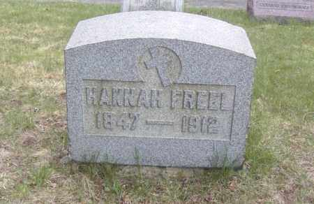 FREEL, HANNAH - Columbiana County, Ohio | HANNAH FREEL - Ohio Gravestone Photos