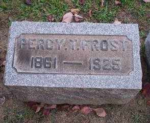 FROST, PERCY T. - Columbiana County, Ohio | PERCY T. FROST - Ohio Gravestone Photos