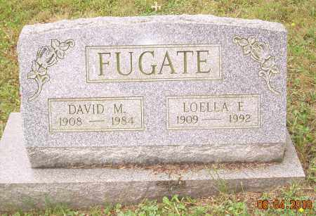 FUGATE, DAVID M - Columbiana County, Ohio | DAVID M FUGATE - Ohio Gravestone Photos