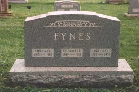 FISHER FYNES, ELIZABETH E - Columbiana County, Ohio | ELIZABETH E FISHER FYNES - Ohio Gravestone Photos