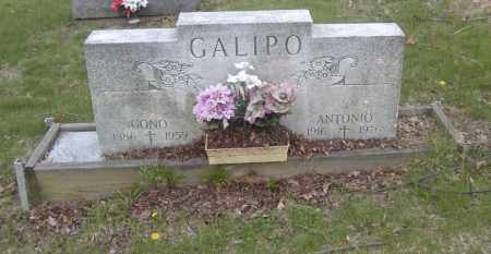 GALIPO, ANTONIO - Columbiana County, Ohio | ANTONIO GALIPO - Ohio Gravestone Photos