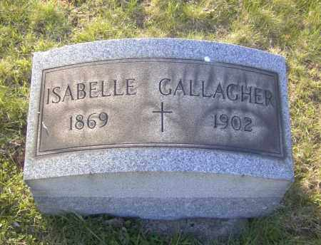 GALLAGHER, ISABELLE - Columbiana County, Ohio | ISABELLE GALLAGHER - Ohio Gravestone Photos