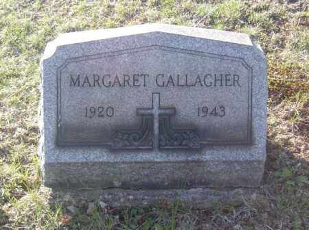 GALLAGHER, MARGARET - Columbiana County, Ohio | MARGARET GALLAGHER - Ohio Gravestone Photos