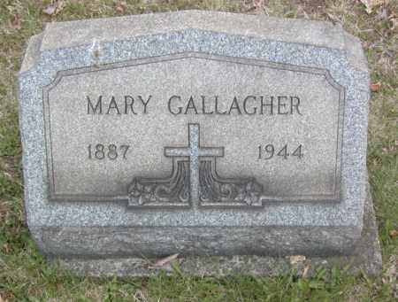 GALLAGHER, MARY - Columbiana County, Ohio | MARY GALLAGHER - Ohio Gravestone Photos