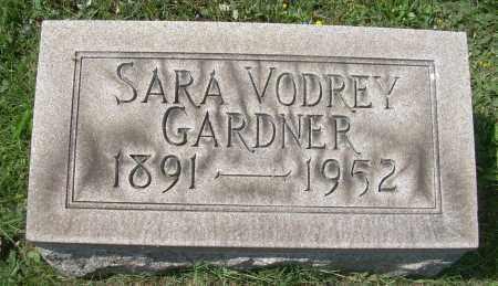 GARDNER, SARAH - Columbiana County, Ohio | SARAH GARDNER - Ohio Gravestone Photos
