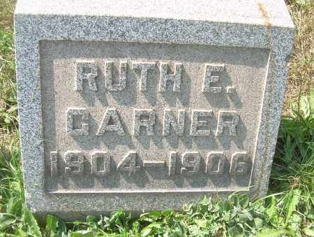 GARNER, RUTH E - Columbiana County, Ohio | RUTH E GARNER - Ohio Gravestone Photos
