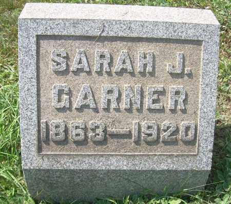 GARNER, SARAH J - Columbiana County, Ohio | SARAH J GARNER - Ohio Gravestone Photos