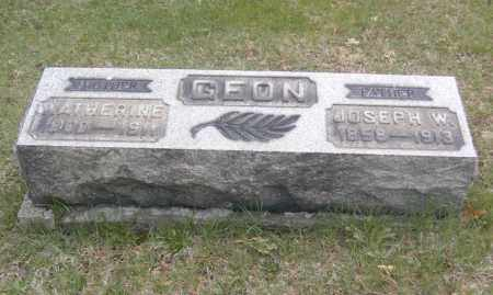 GEON, KATHERINE - Columbiana County, Ohio | KATHERINE GEON - Ohio Gravestone Photos