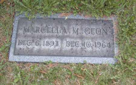 GEON, MARCELLA M. - Columbiana County, Ohio | MARCELLA M. GEON - Ohio Gravestone Photos