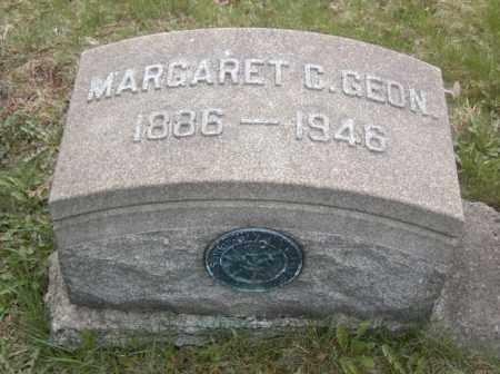GEON, MARGARET C. - Columbiana County, Ohio | MARGARET C. GEON - Ohio Gravestone Photos