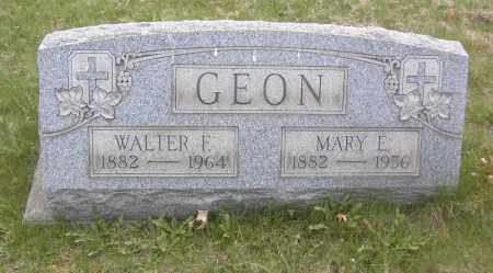 GEON, MARY E. - Columbiana County, Ohio | MARY E. GEON - Ohio Gravestone Photos
