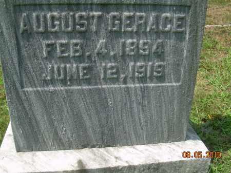 GERACE, AUGUST - Columbiana County, Ohio | AUGUST GERACE - Ohio Gravestone Photos