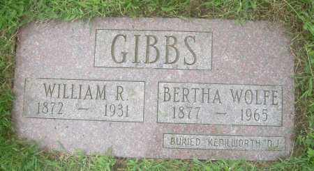 GIBBS, WILLIAM R - Columbiana County, Ohio | WILLIAM R GIBBS - Ohio Gravestone Photos