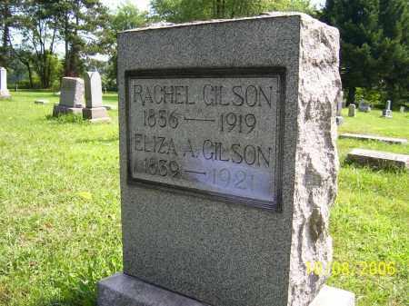 GILSON, RACHEL - Columbiana County, Ohio | RACHEL GILSON - Ohio Gravestone Photos