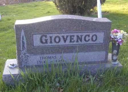 GIOVENCO, THOMAS J. - Columbiana County, Ohio | THOMAS J. GIOVENCO - Ohio Gravestone Photos