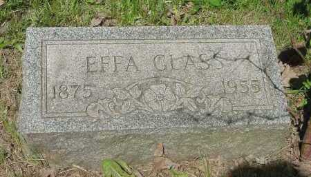 GLASS, EFFA - Columbiana County, Ohio | EFFA GLASS - Ohio Gravestone Photos