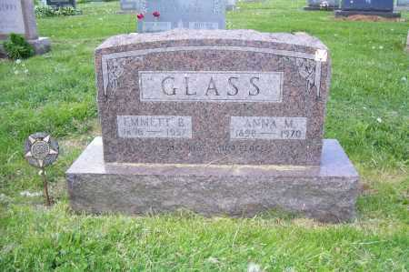 GLASS, ANNA - Columbiana County, Ohio | ANNA GLASS - Ohio Gravestone Photos