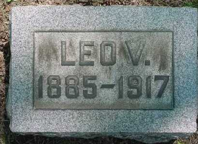 GLASS, LEO V - Columbiana County, Ohio | LEO V GLASS - Ohio Gravestone Photos