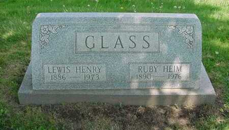 HEIM GLASS, RUBY - Columbiana County, Ohio | RUBY HEIM GLASS - Ohio Gravestone Photos