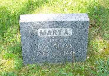 GLASS, MARY - Columbiana County, Ohio | MARY GLASS - Ohio Gravestone Photos