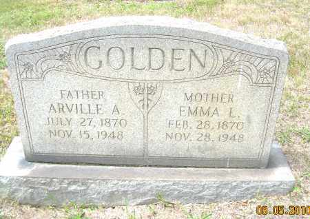 GOLDEN, EMMA L - Columbiana County, Ohio | EMMA L GOLDEN - Ohio Gravestone Photos