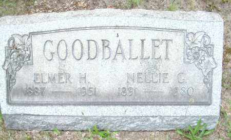 GOODBALLET, NELLIE G - Columbiana County, Ohio | NELLIE G GOODBALLET - Ohio Gravestone Photos