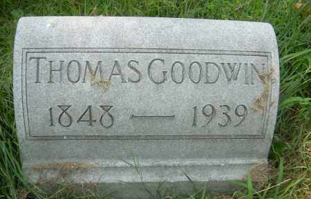 GOODWIN, THOMAS - Columbiana County, Ohio | THOMAS GOODWIN - Ohio Gravestone Photos