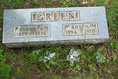 BLAZER GREEN, BESSIE A. - Columbiana County, Ohio | BESSIE A. BLAZER GREEN - Ohio Gravestone Photos