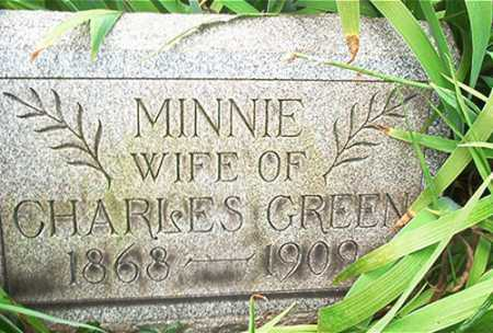 GREEN, MINNIE B. - Columbiana County, Ohio | MINNIE B. GREEN - Ohio Gravestone Photos