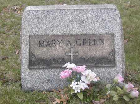 GREEN, MARY A. - Columbiana County, Ohio | MARY A. GREEN - Ohio Gravestone Photos