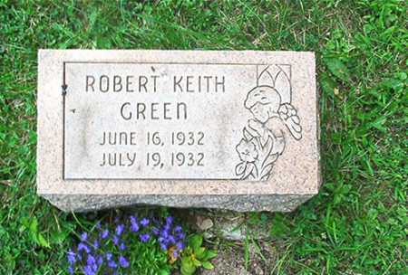 GREEN, ROBERT KEITH - Columbiana County, Ohio | ROBERT KEITH GREEN - Ohio Gravestone Photos