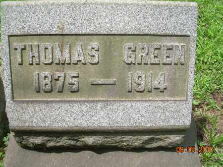 GREEN, THOMAS - Columbiana County, Ohio | THOMAS GREEN - Ohio Gravestone Photos