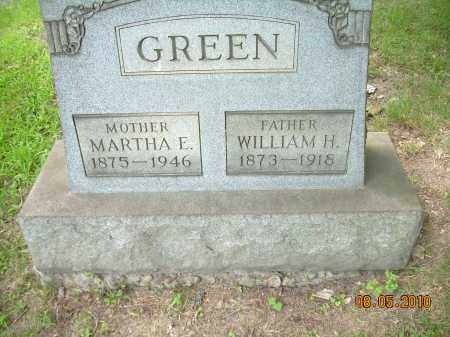 GREEN, WILLIAM H - Columbiana County, Ohio | WILLIAM H GREEN - Ohio Gravestone Photos